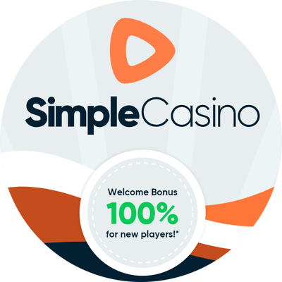 simple casino logo