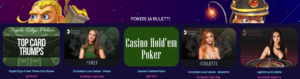 Pokeri ja Ruletti